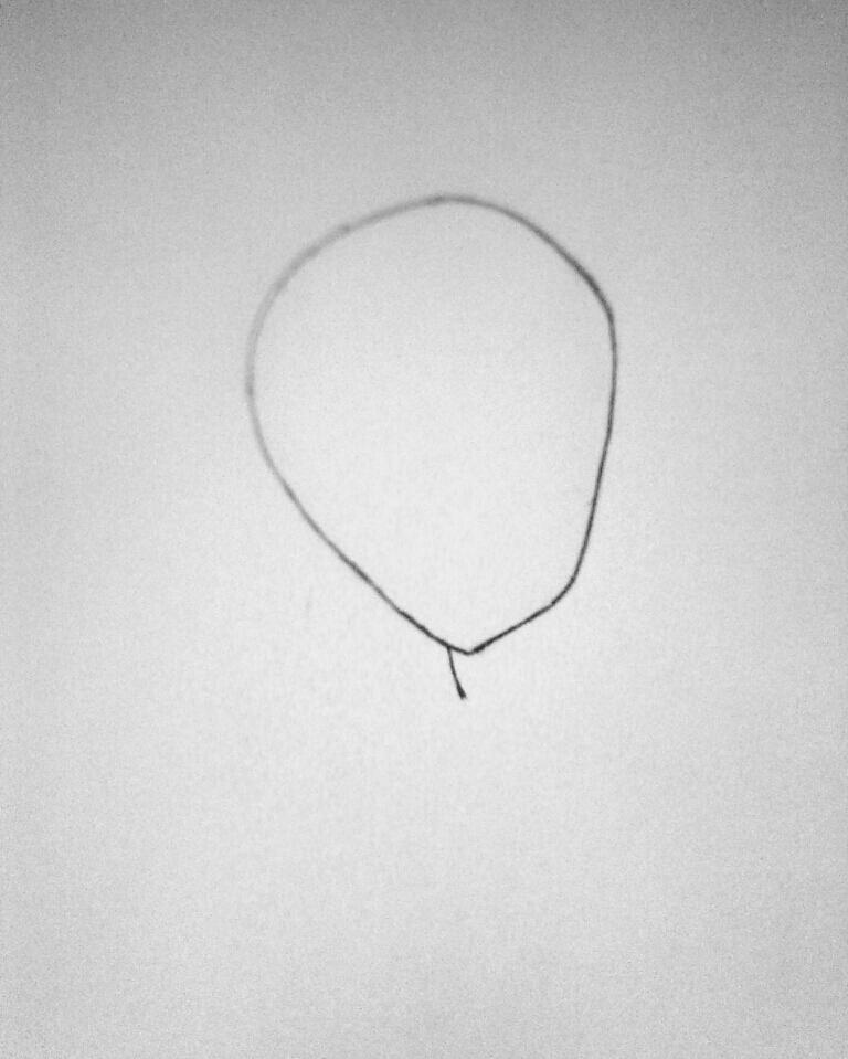 Рисуем симпатичную Нину убийцу из крипипасты - фото 1