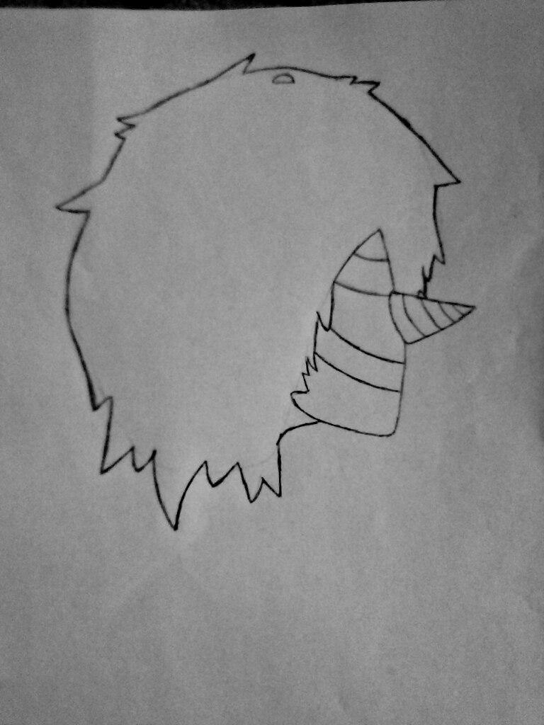 Как нарисовать Смеющегося Джека из крипипасты поэтапно - шаг 3