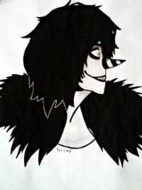 Рисунок Смеющегося Джека из крипипасты
