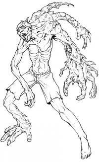 Фото трехрукого мутанта