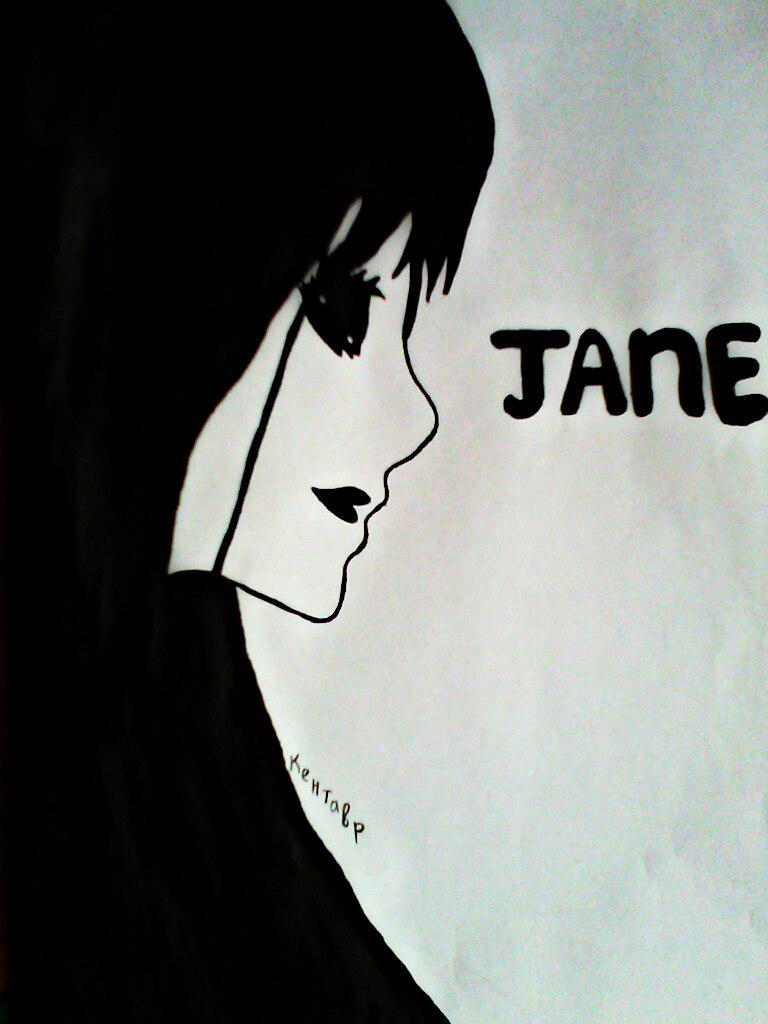 Как нарисовать убийцу Джейн карандашом поэтапно - шаг 6