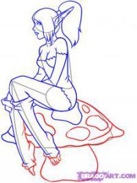Как рисовать эльфов