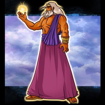 Рисуем Зевса (Zeus)