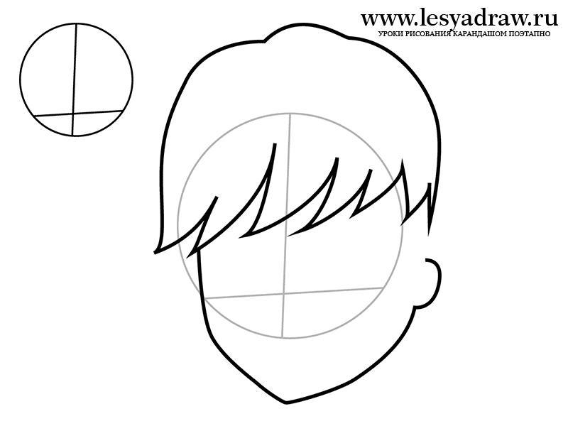 Как нарисовать Твайла из Монстр Хай карандашом поэтапно