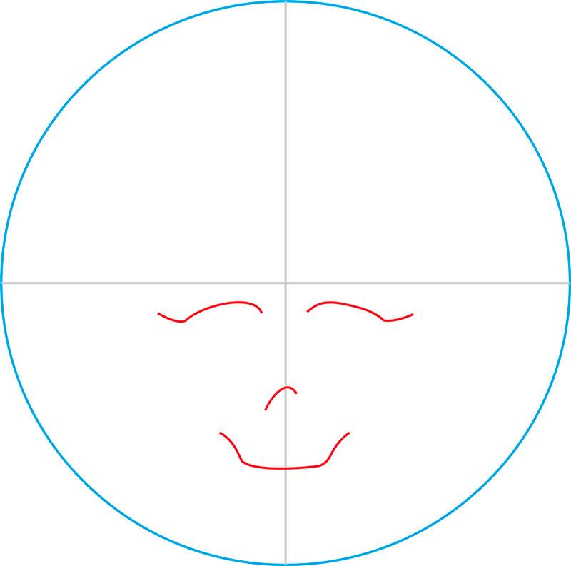 Как нарисовать знак Френки Штейн из Монстер Хай