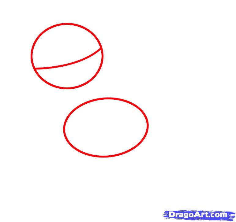 Рисуем единорога Сумеречная Искорка - шаг 1