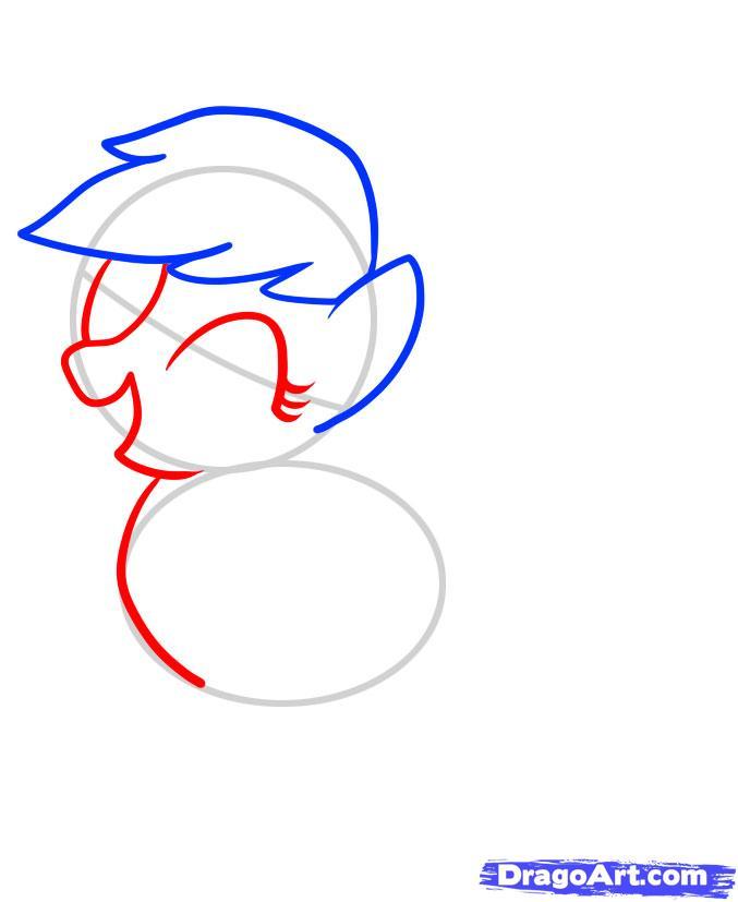Рисуем пони Эпплджек из Дружба - это чудо - фото 3