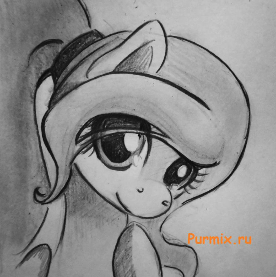 картинки рисунки карандашом пони