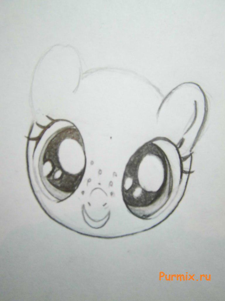 Рисуем пони Эпплджек из Дружба - это чудо - фото 2