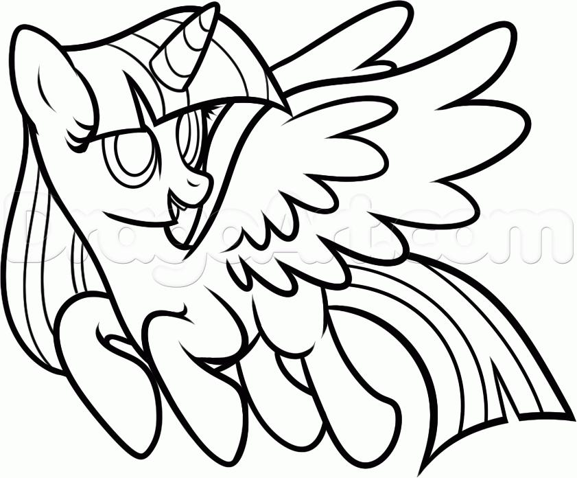 Coloring Pages Of Princess Twilight Sparkle : Free coloring pages of twilight sparkle