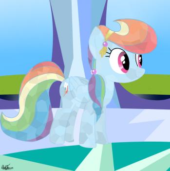 Как нарисовать пони Радуга Дэш (Rainbow Dash) карандашом поэтапно