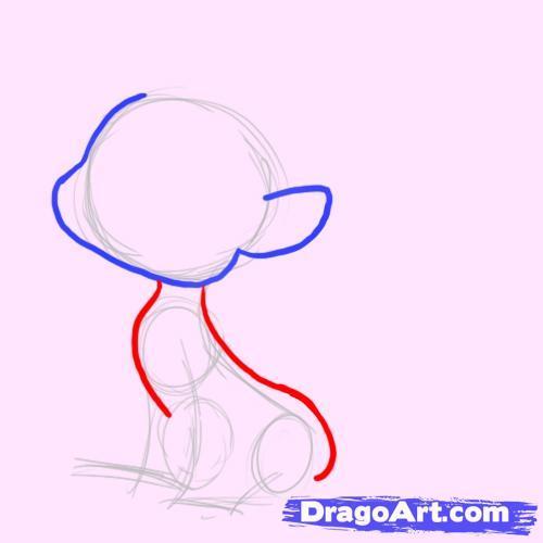 Как рисовать пони в наушниках - шаг 3