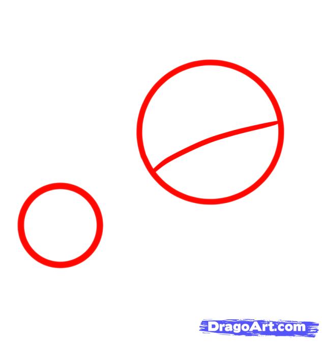 Как рисовать веселую Флаттершай - шаг 1