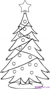 новогоднюю елку . 12 уроков