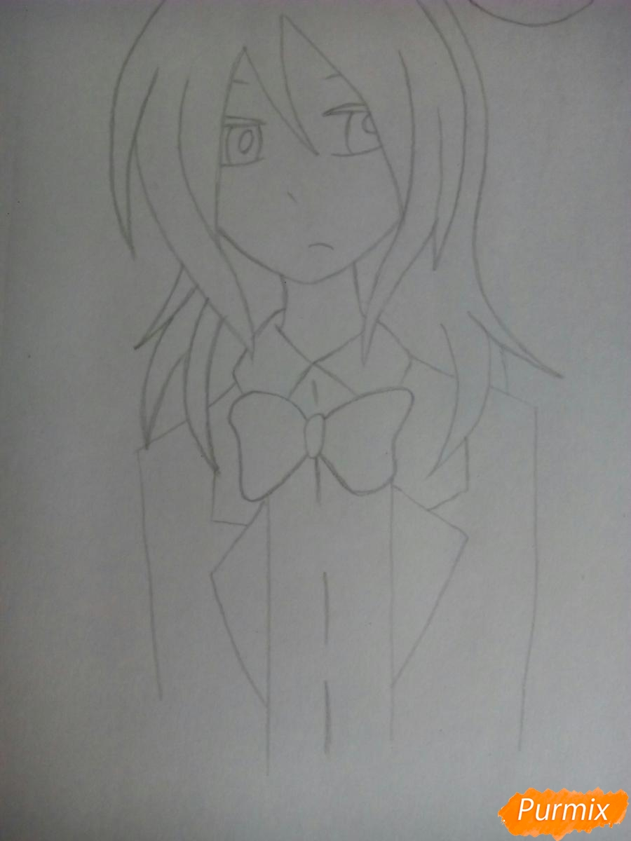 Рисуем Бонни в облике человека - шаг 5