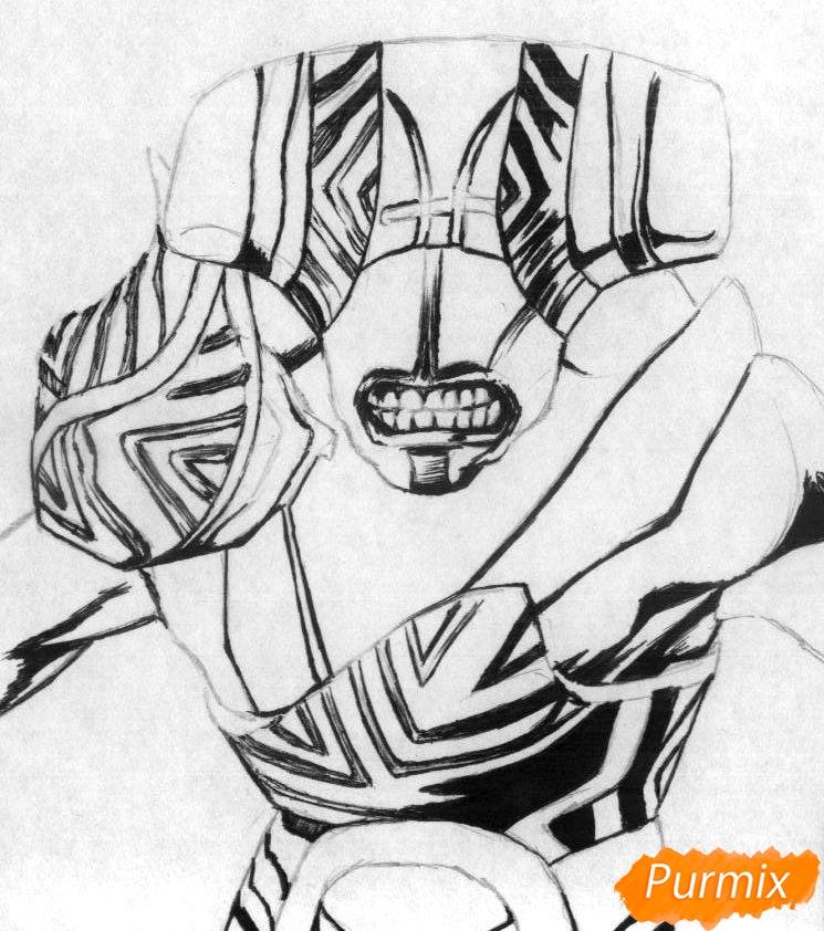Рисуем героя Faceless Void из Dota 2 - фото 2