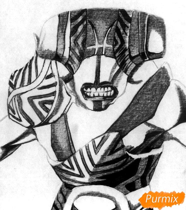 Рисуем героя Faceless Void из Dota 2 - фото 3