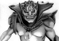 Рисунок Lion персонажа игры Dota 2