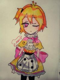 Рисунок милую Чику девочку