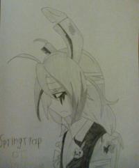 Рисунок Спрингтрапа в стиле аниме