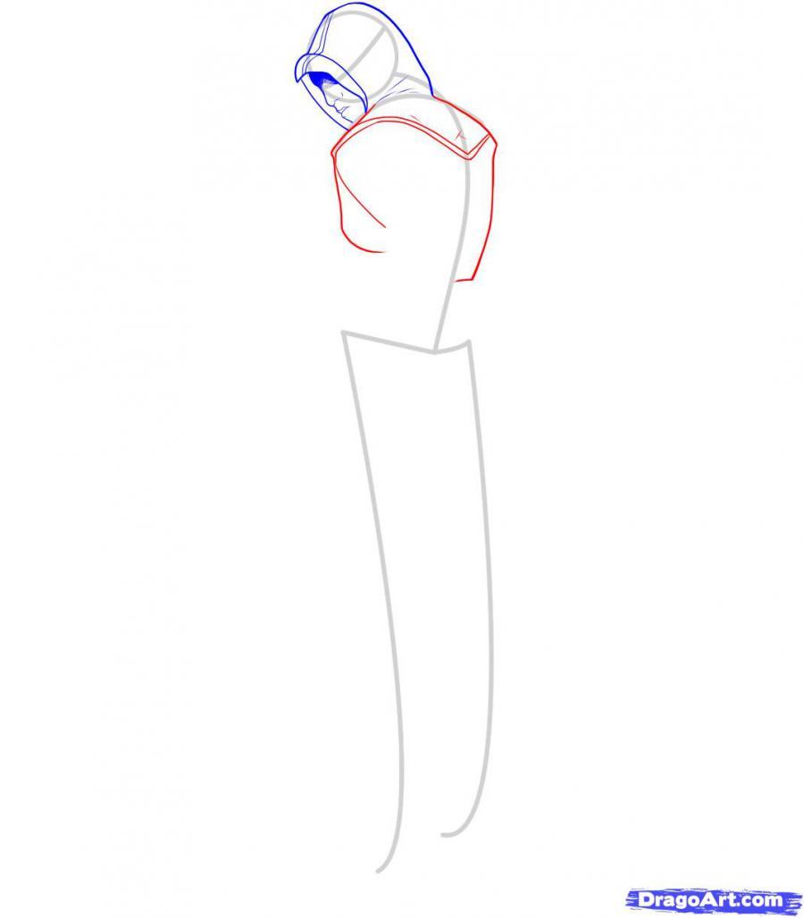 Рисуем Альтаира из игры Assassins Creed - фото 5