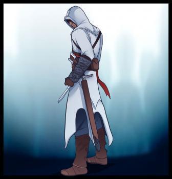 Рисуем Альтаира из Assassins Creed