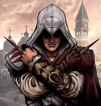 Рисуем Ezio из Assassins Creed