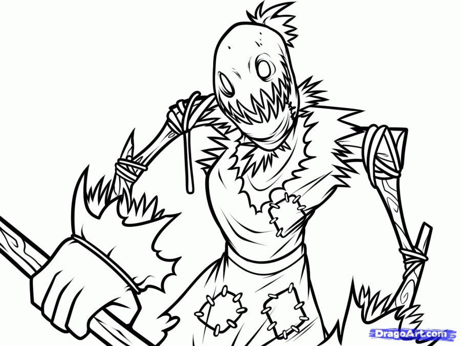 Как нарисовать Фиддлстикса из игры League of Legends карандашом