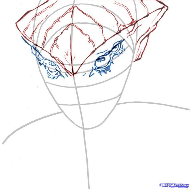 Рисуем  Протеанца  из Mass Effect