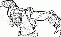 Крейга из игры Бордерлендс карандашом