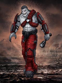 Рисуем Локуста из Gears of War
