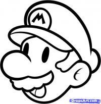 Марио карандашом