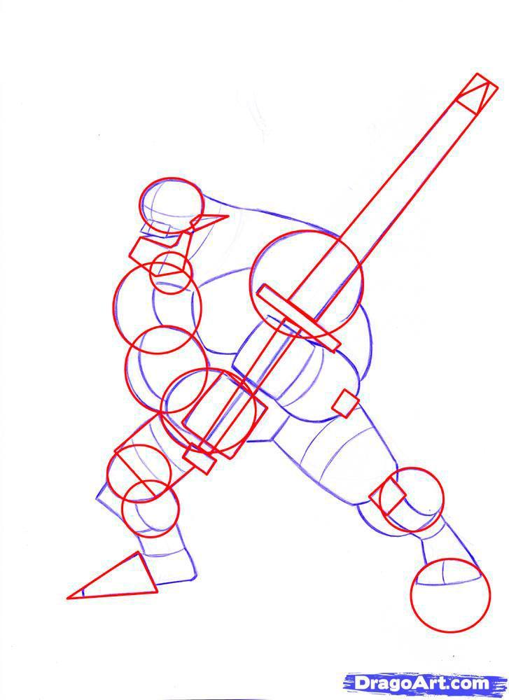 Рисуем орка из варкрафта