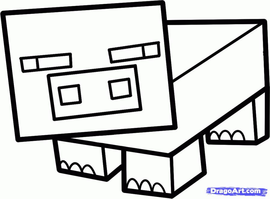 Майнкрафт как нарисовать кота
