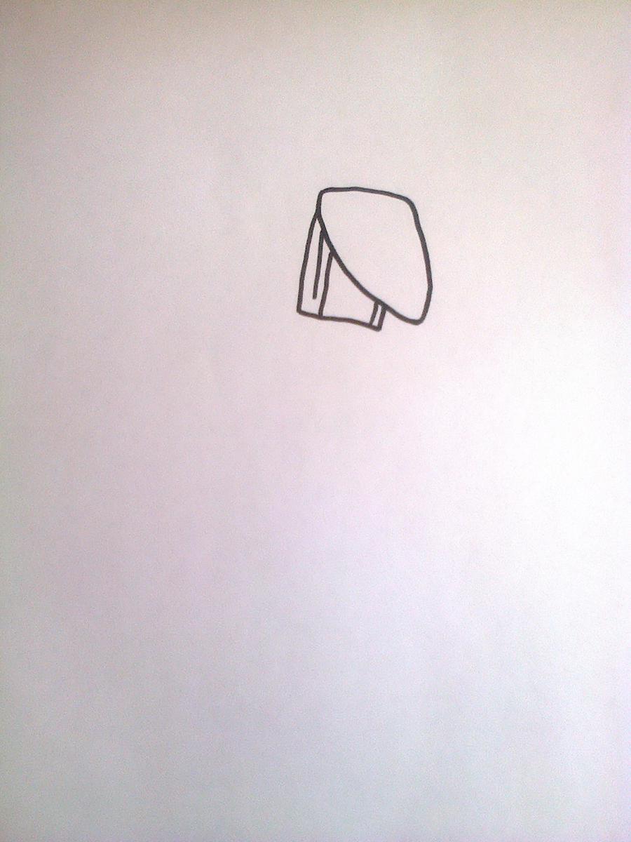 Рисуем Той Бонни из 5 ночей с Фредди - шаг 1