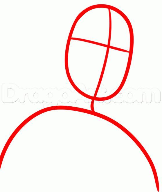Рисуем Тревора Филипса  для начинающих - шаг 1
