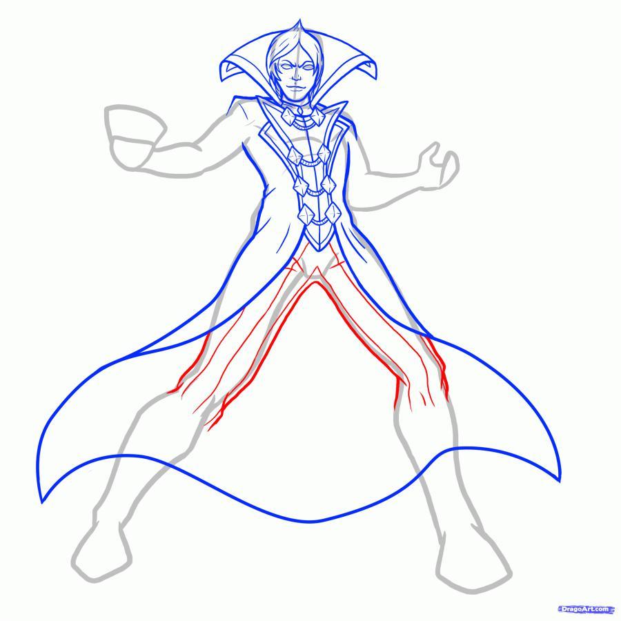 Рисуем Владимира из Лиги Легенд
