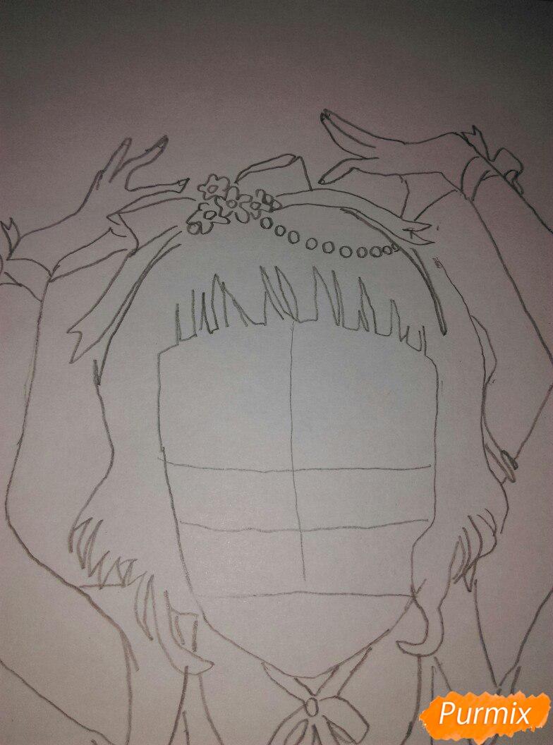 Lostfish иллюстрация из книги Алиса в стране чудес - шаг 5