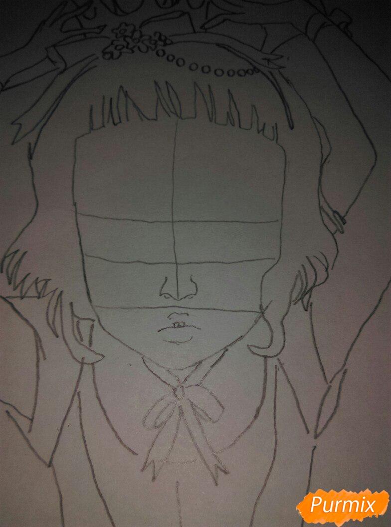 Lostfish иллюстрация из книги Алиса в стране чудес - шаг 7