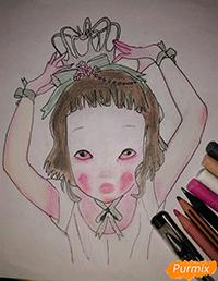 Lostfish иллюстрация из книги Алиса в стране чудес