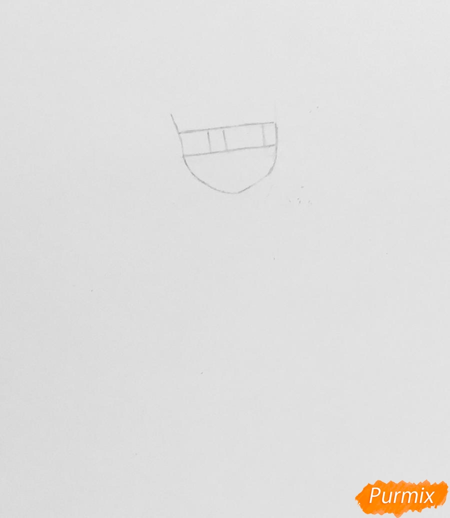 Рисуем Алью вольпину из мультфильма Леди Баг и Супер Кот - шаг 1