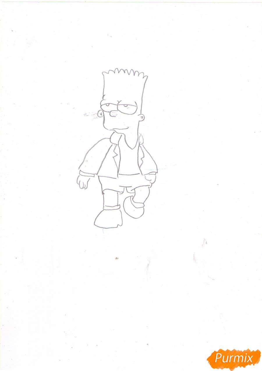 Рисуем Барта в полный рост - шаг 4