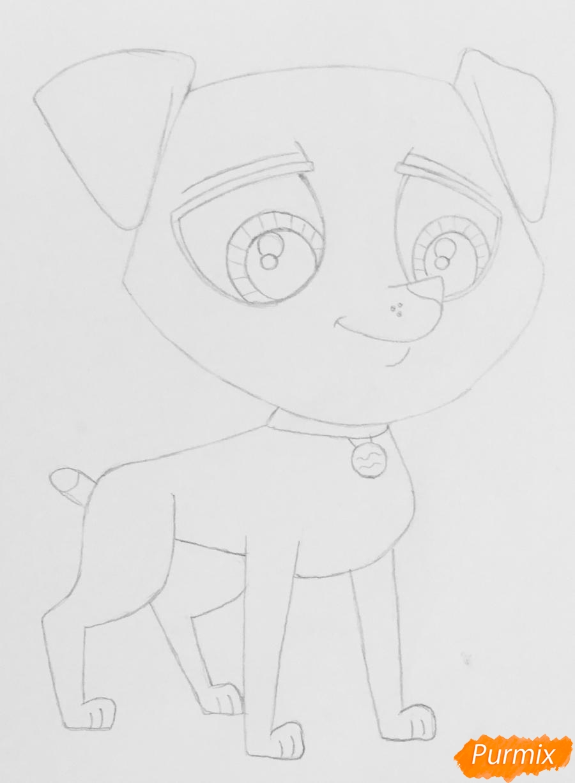 Рисуем Pet Shop далматинца из - фото 5