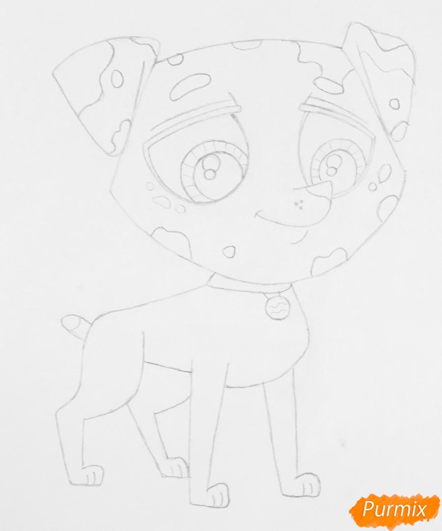 Рисуем Pet Shop далматинца из - фото 6