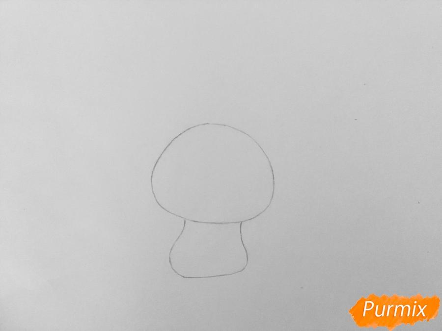 Рисуем кролика Снежка из мультфильма Тайная жизнь домашних животных - фото 2