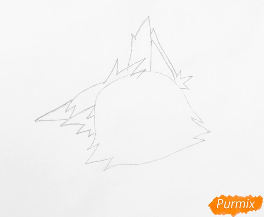 Рисуем лисичку Синопу из мультфильма My Littlest Pet Shop - фото 2