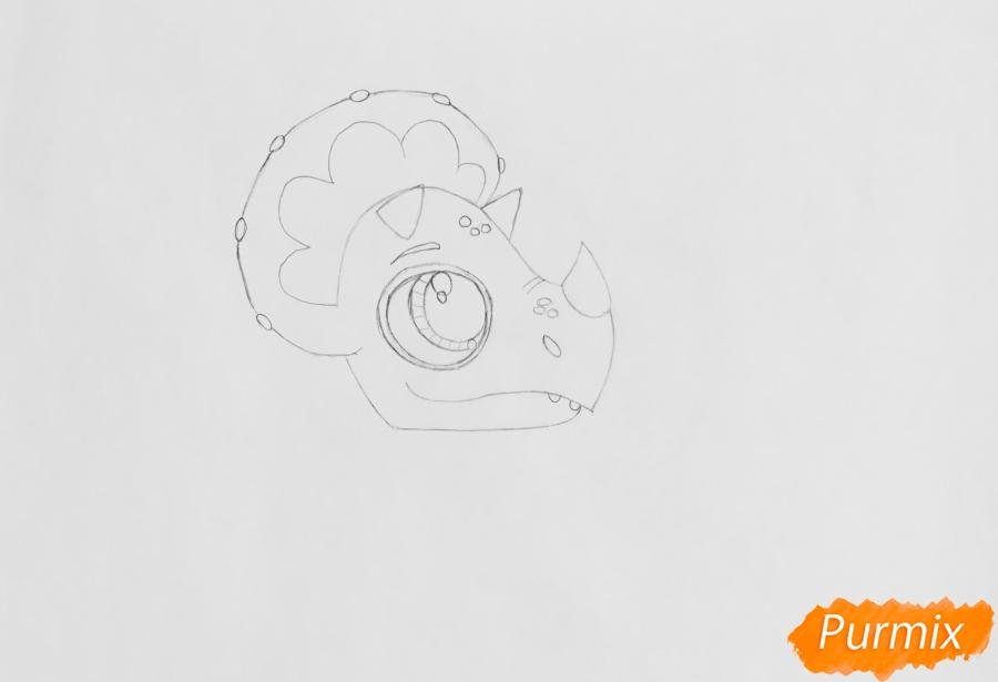 Рисуем Минг-Линга из мультфильма My Littlest Pet Shop - шаг 3