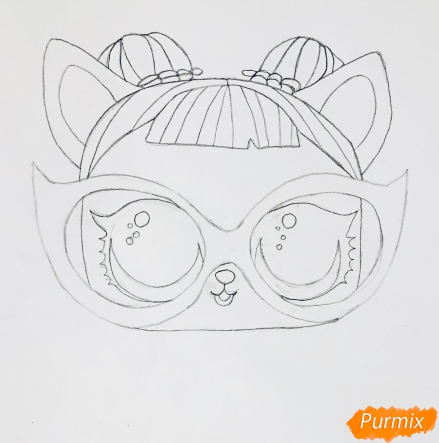 Рисуем модную собачку чихуахуа из мультфильма Lol pets - фото 4