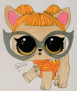 Фото модную собачку чихуахуа из Lol pets
