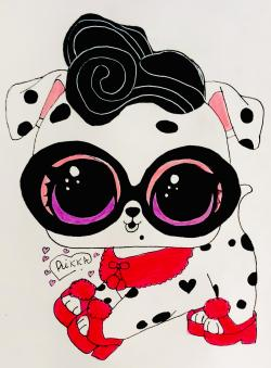 Фото щеночка далматинца из Lol Pets